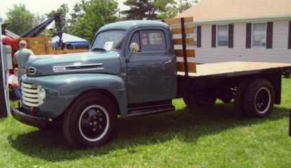 Ford F5 side view
